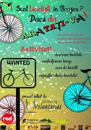 Afis_Ziua biciclistului brasovean_26 oct