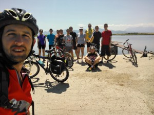 Am ajuns la lacurile de la Dumbravita.